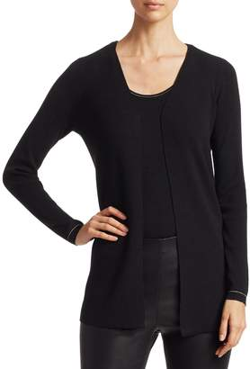 Saks Fifth Avenue Wool Elite Open Cardigan