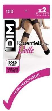 Dim 2 Pack Les Essentiels Knee High 15D