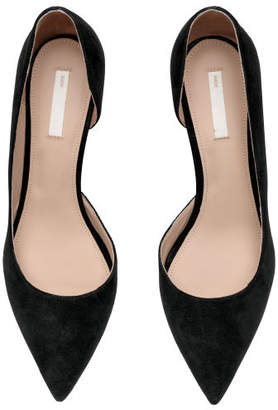 H&M Pumps with Pointed Toes - Black