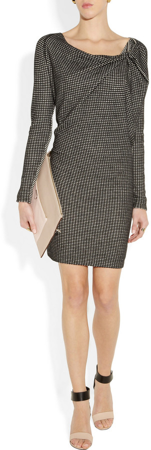 Roland Mouret Nightingale knitted stretch-cotton dress