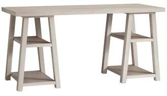 Pottery Barn Teen Customize-It Simple Trestle Desk, Brushed Fog