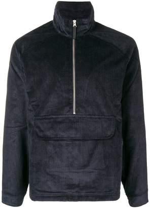 Pop Trading International corduroy half-zip sweatshirt