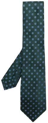 Kiton micro embroidered tie