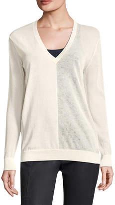 Halston V-Neck Sweater