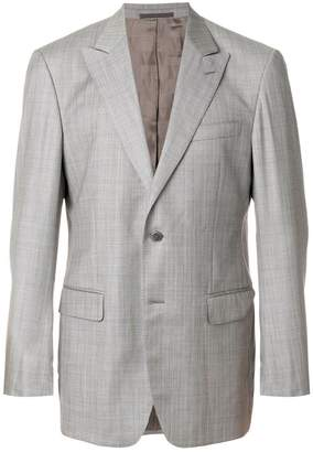 Versace Pre-Owned striped single breasted blazer