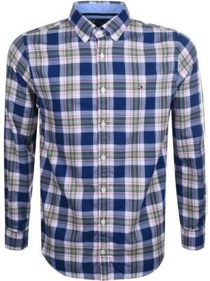 Tommy Hilfiger Zac Check Shirt Blue