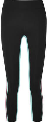 NO KA 'OI NO KA'OI Striped Stretch Leggings - Black