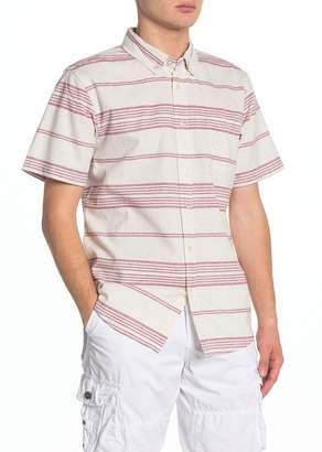 Obey Kyle Stripe Short Sleeve Regular Fit Shirt