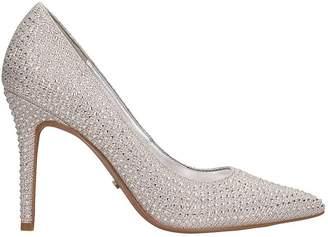 Michael Kors Silver Glitter Decollete Claire Pump