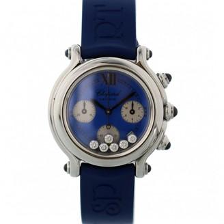 Chopard Happy Sport Blue Steel Watches
