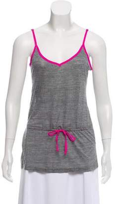 Adriano Goldschmied Sleeveless V-Neck Top
