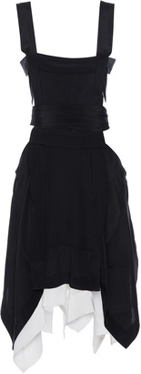 Isabel Marant Oury Asymmetrical Sleeveless Dress $760 thestylecure.com