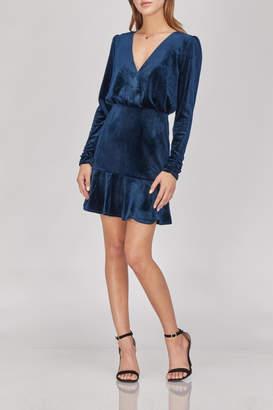 Greylin Luna Velvet Dress