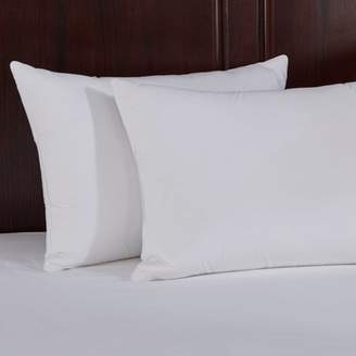 Pure Down Puredown Natural Memory Foam Goose Feather Pillow, Set of 2, Standard/Queen Size, White