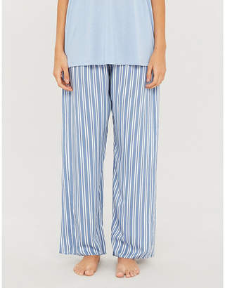 Hanro Relaxed-fit woven pyjama bottoms