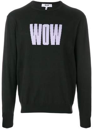MSGM WOW sweater