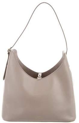 Smythson Saffiano Leather Shoulder Bag