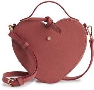 Lauren Conrad Heart Crossbody Bag
