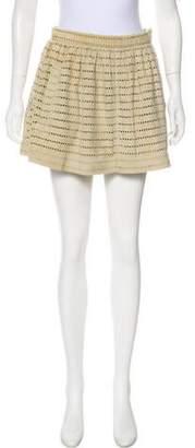 Opening Ceremony Leather Mini Skirt