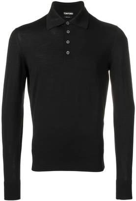 Tom Ford long-sleeved polo shirt