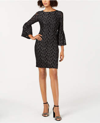 American Living Lace Bell-Sleeve Dress