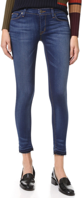 Hudson Krista Cropped Skinny Jeans $209 thestylecure.com