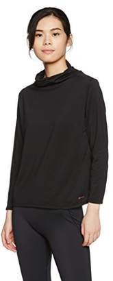 Janestyle (ジェーンスタイル) - (ジェーンスタイル)janestyle フィットネス リラックスハイネックシャツ JS751 [レディース] JS751 90 ブラック S