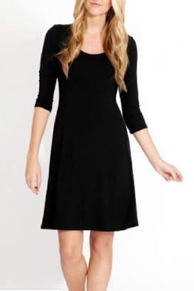 Karen Kane A-Line 3/4 Sleeve Dress