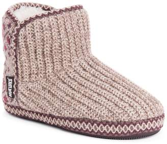 Muk Luks Women's Leigh Bootie Slippers