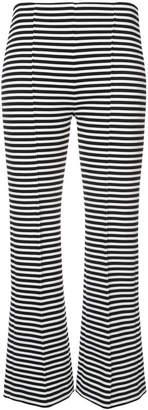 Sonia Rykiel cropped stripe trousers