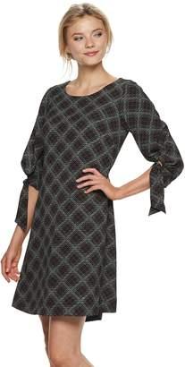 Elle Women's Ruched-Sleeve Sheath Dress