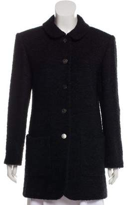 Chanel Wool & Mohair Coat