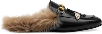Princetown slipper with bee $995 thestylecure.com
