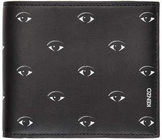 Kenzo Black Multi Eye Wallet