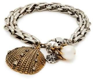 Alexander McQueen Charm Bracelet - Womens - Silver