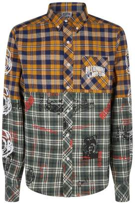 Billionaire Boys Club Check Headline Print Shirt