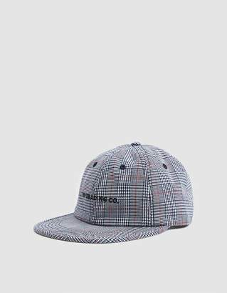 Co Pop Trading Flexfoam 6 Panel Hat In White/Red Plaid