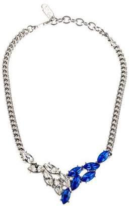 Saint Laurent Crystal Collar Necklace