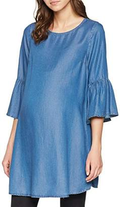 New Look Maternity Women's 5609816 T-Shirt, (Mid Blue 40), (Size:10)