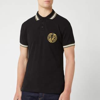 Men's Contrast Collar Polo Shirt