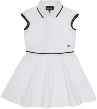 Armani Junior Cap Sleeve Tennis Dress