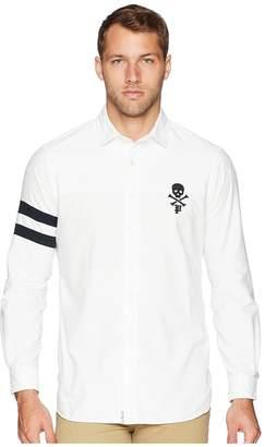Polo Ralph Lauren Oxford Skull Sport Shirt Men's Clothing