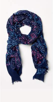 J.Mclaughlin Reed Scarf in Fillmore Paisley