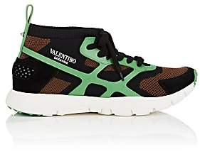 Valentino MEN'S SOUND HIGH KNIT SNEAKERS