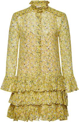 Beige Silk Mini With Rooka Voltaire Jac Zadigamp; Leo Stylebop Dress LSzjqVUMGp