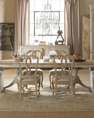 Century Furniture Madeline Double Pedestal Dining Table