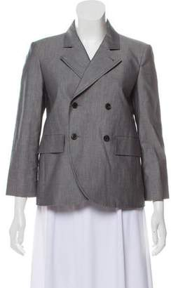 Balenciaga Structured Peak Lapel Blazer w/ Tags