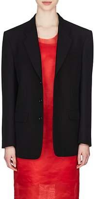 Maison Margiela Women's Wool-Blend Two-Button Blazer