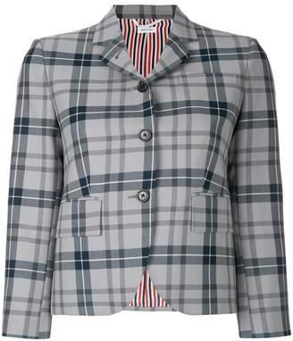 Thom Browne Tartan Wool Sport Coat