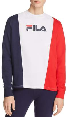 Fila Sidra Color-Block Sweatshirt
